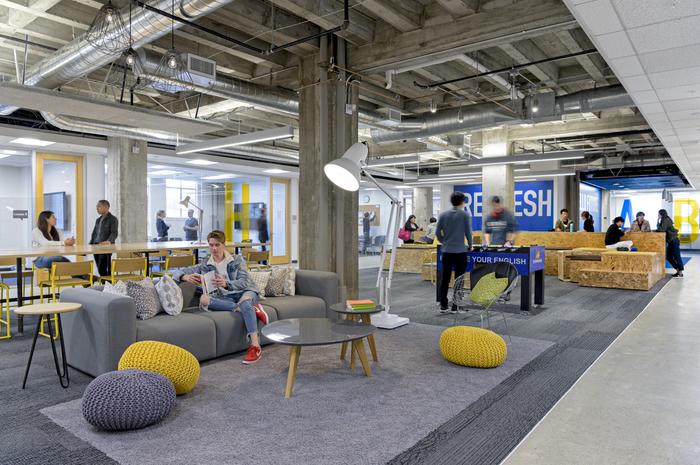 Espacios abiertos y colaborativos en oficinas