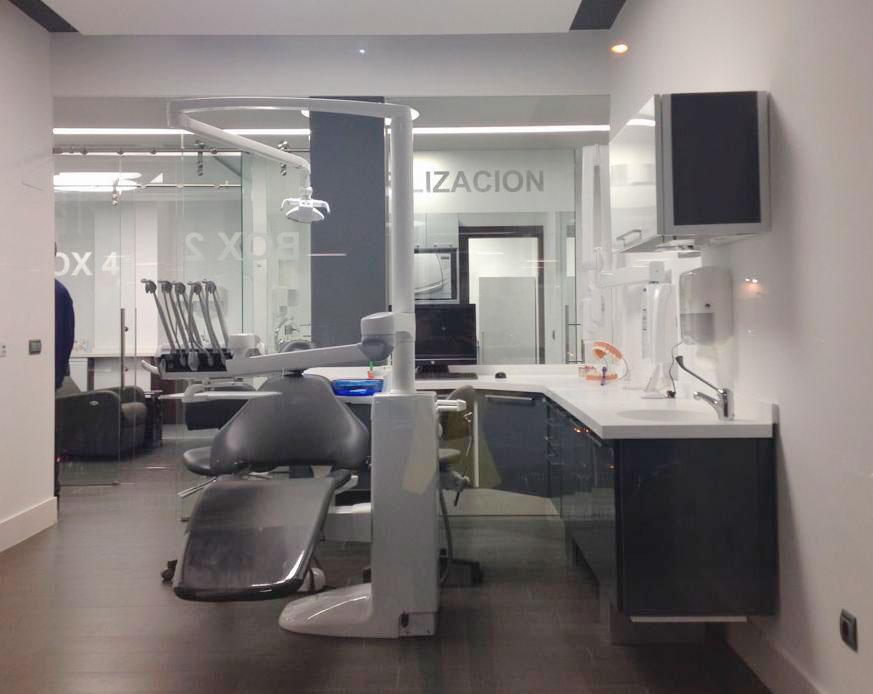 Mobiliario para cl nicas dentales y laboratorios de - Clinicas dentales de diseno ...