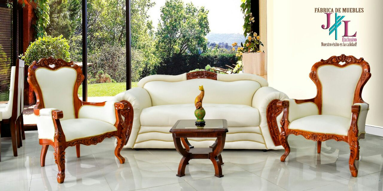 Sala Isabelina Imperial  Muebles JL Exclusivo