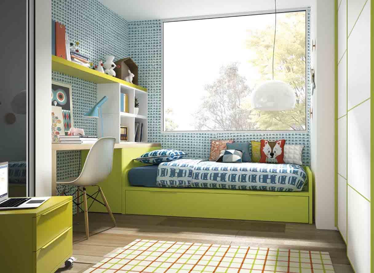 Gua para elegir el dormitorio juvenil La cama