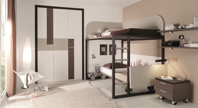Dormitorios modernos juveniles de Tobisa Muebles