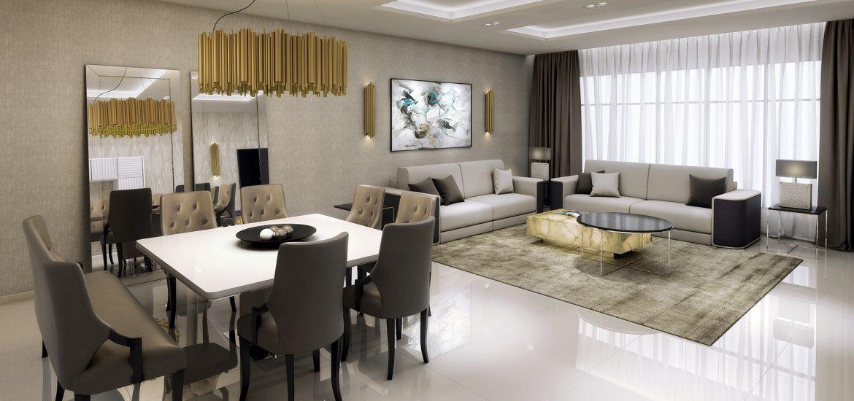 Gm Proyecto Living  Comedor  Interiorismo y Muebles de Lujo