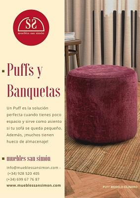 Puff y Banquetas