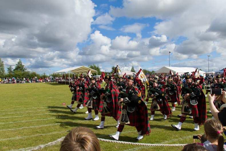 Highlandgames, Scotland, Stirling, UK