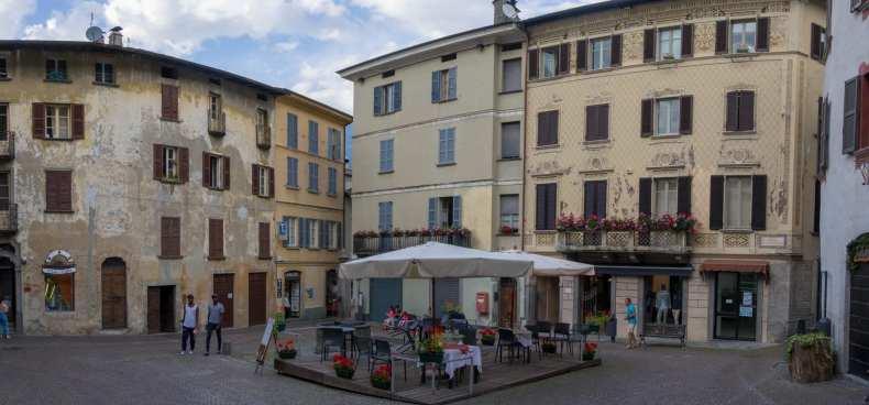 Comersee, Gera Lario, Italien, Kitesurfing
