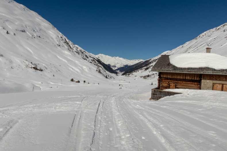 Davos, Graubünden, Grialetsch, Schweiz, Skitour