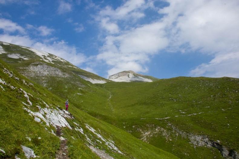 Calanda, Graubünden, Schweiz, Wandern