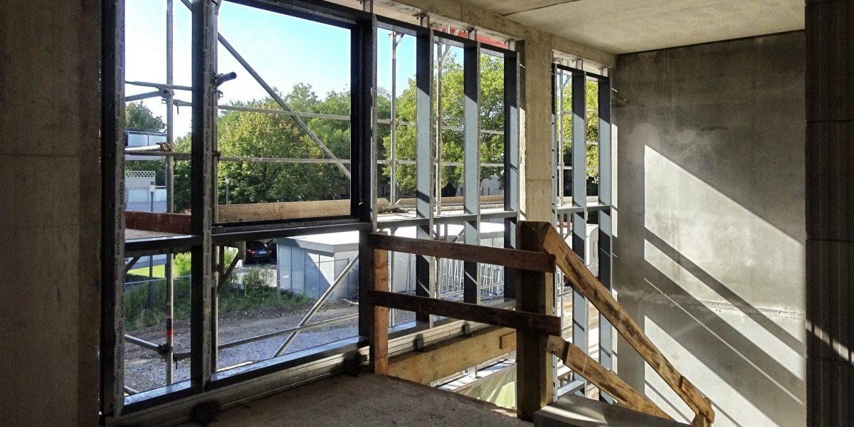 1OG Neubau eines Wohnhauses für Menschen mit Behinderung ; muellerarchitekt. in Solingen ; vom Entwurf bis zur Bauleitung