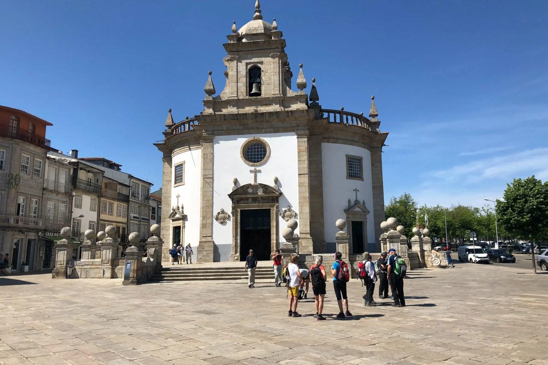 die runde Kirche in Barcelos