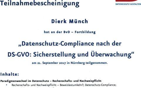 Datenschutz und Compliance