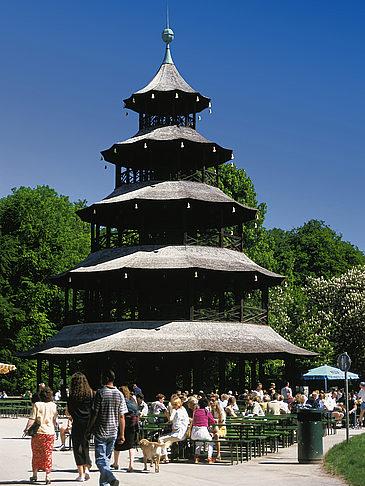Englischer Garten München Monopterus Teehaus