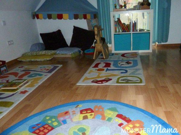 Das Kinderzimmer ist ein sehr beliebt.