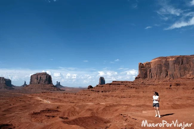 El impresionante Monument Valley