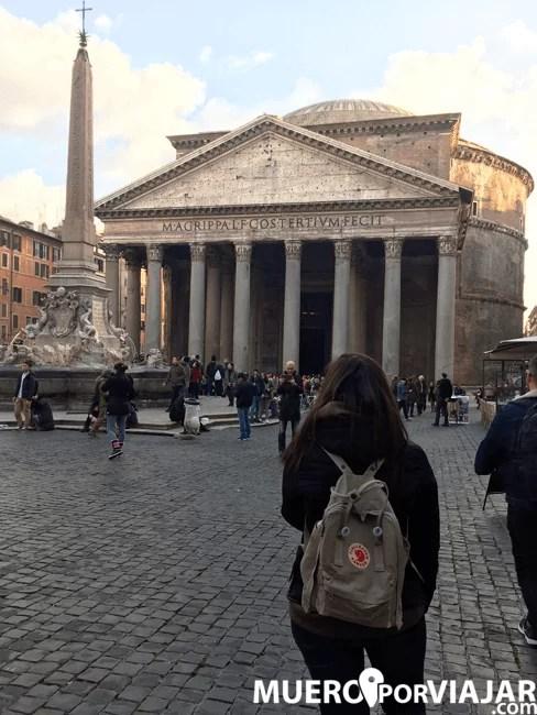 Siempre maravilla la vista del Panteón de Roma da igual las veces lo hayas visto