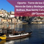 Oporto – Torre de los Clerigos, Vila Nova de Gaia y Bodegas, Mercado do Bolhao, Rua Santa Catarina y playas de Oporto