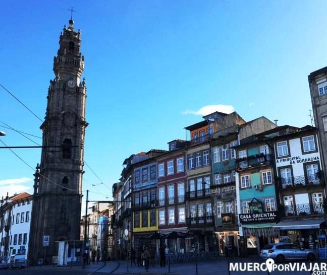 Con la Porto card tienes un 50% de descuento en la Torre de los Clérigos de Oporto