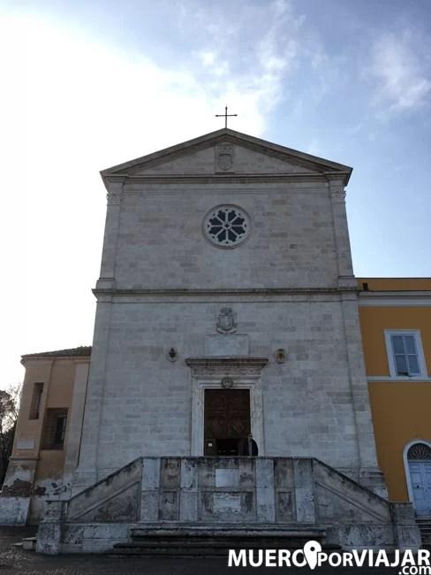 La Chiesa di San Pietro in Montorio