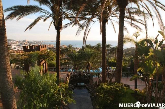 Bonito parque en la zona de Tenerife Sur