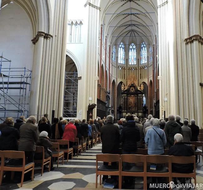 La catedral de San Salvador en Brujas