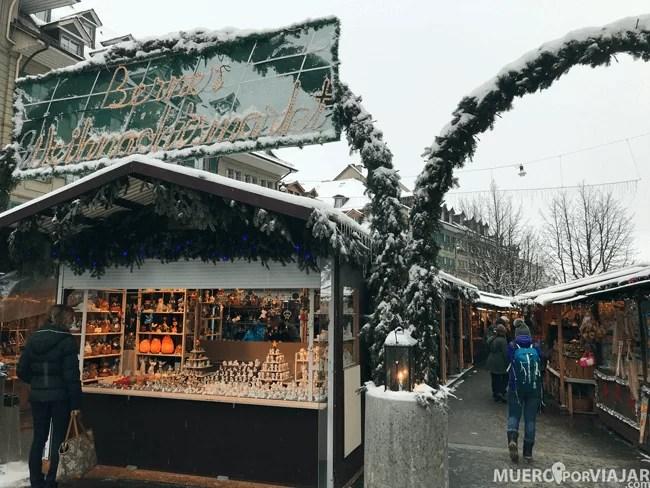 Mercado navideño en Bern