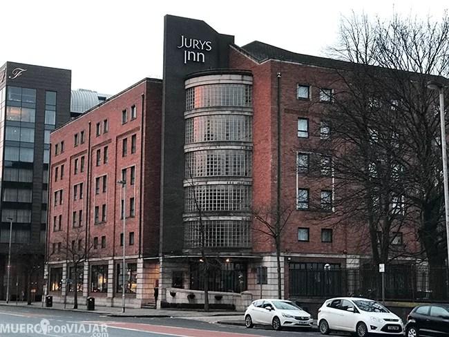 El hotel Jurys Inn en Belfast