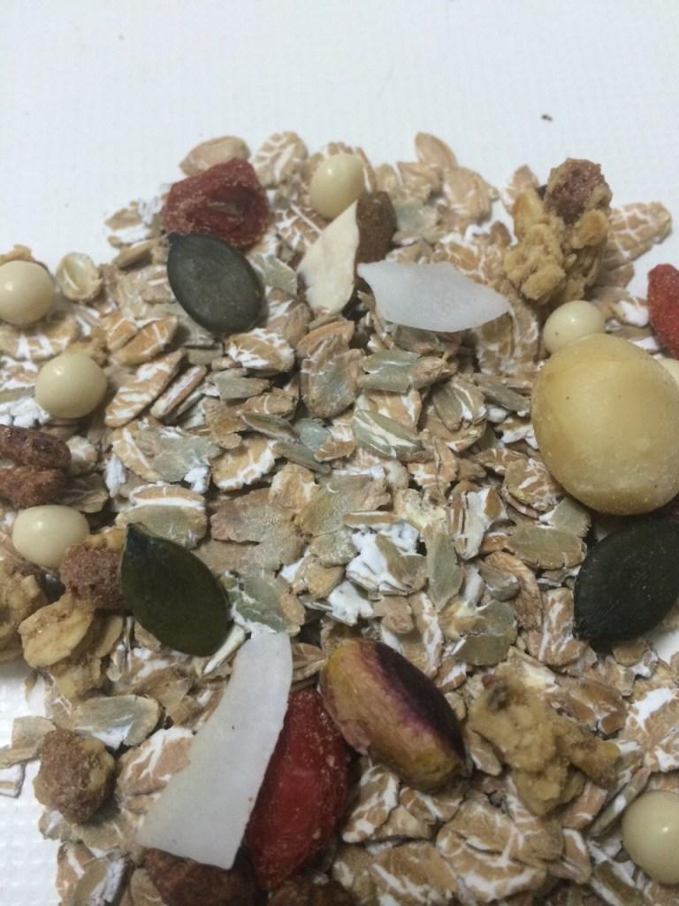 muesli con frutos secos