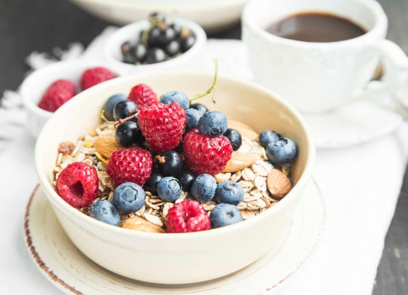 muesli desayuno