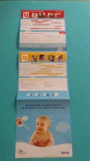 Guía 1000 primeros días muestras gratis del Club Nestlé