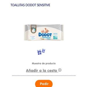 muestra gratis toallitas Dodot