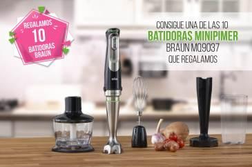 Sorteo Tu Casa Club 10 batidoras MINIPIMER