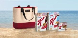 bolso de playa gratis con special k de kellogg