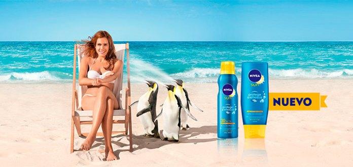 Consigue el nuevo Nivea Sun Protege & Refresca