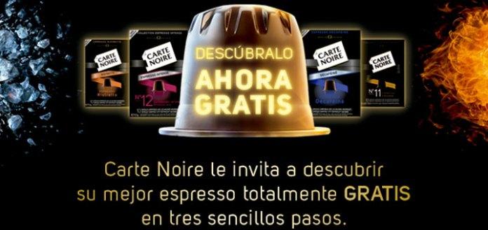 prueba gratis espresso carte noire