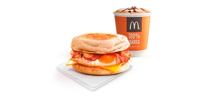 Consigue gratis un McMuffin con McDonald's
