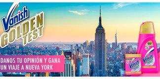 Gana un viaje a Nueva York con Vanish Gold