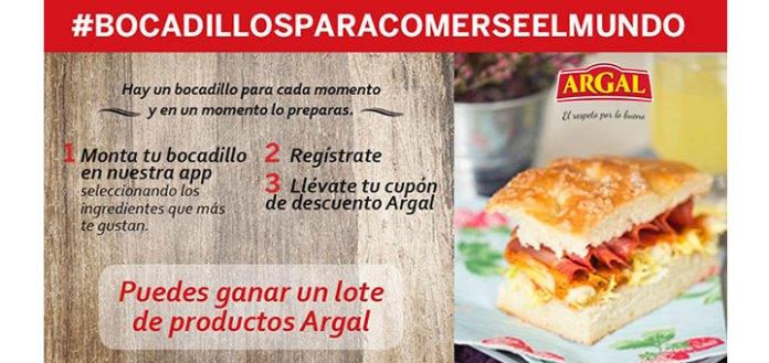 Gana un lote de productos Argal