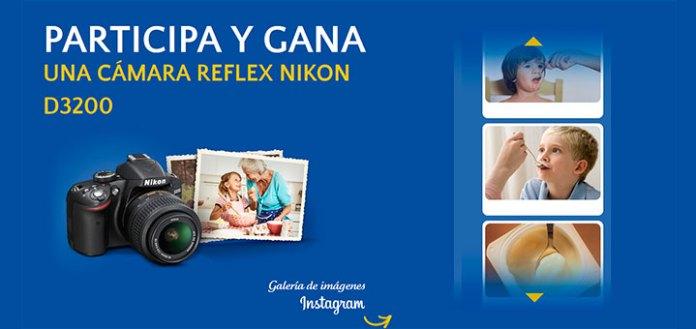 Gana una cámara Reflex Nikon con La Lechera