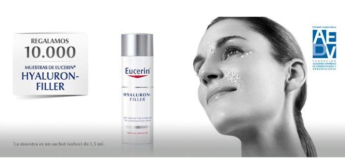 Eucerin regala muestras de Hyaluron-Filler