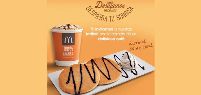 Tortitas gratis en McDonald's
