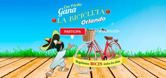 Gana la bicicleta Orlando