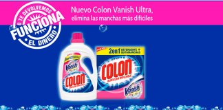 Prueba Colon Vanish Ultra sin compromiso