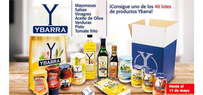 Ybarra sortea 40 lotes de sus productos