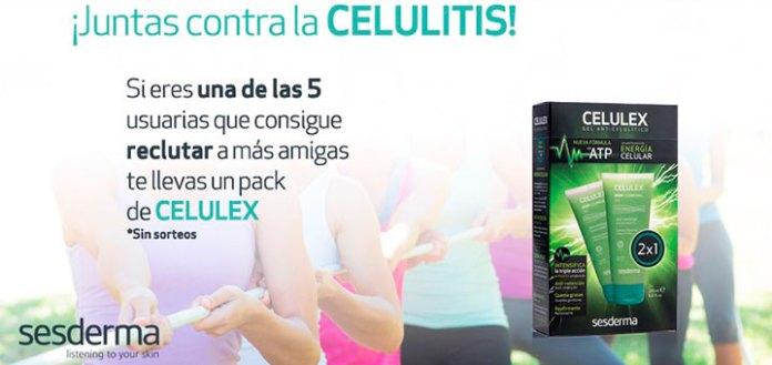 Consigue un pack de Celulex