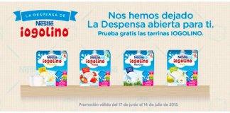 Prueba gratis Iogolino de Nestlé