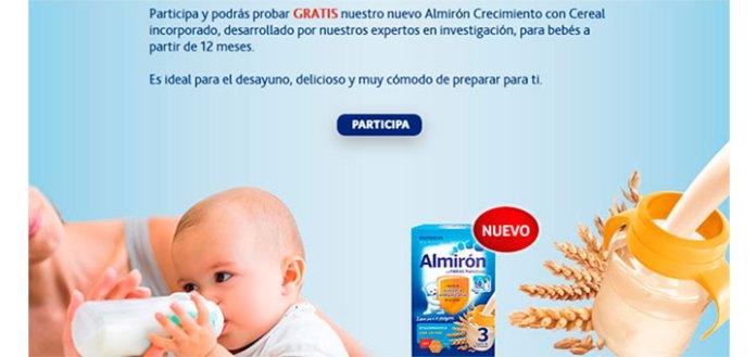Consigue gratis Almirón 3 con Cereal