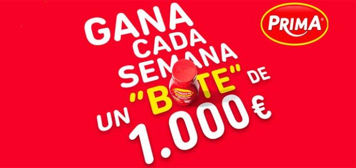 Gana 1000 euros cada semana con Prima