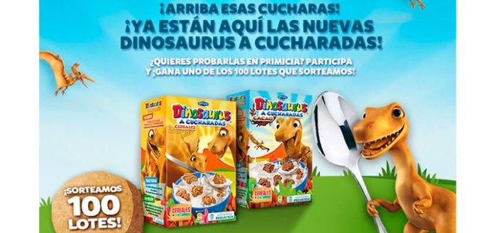Prueba las nuevas Dinosaurus a cucharas