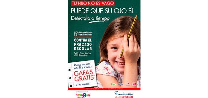 Campaña de salud visual Alain Afflelou
