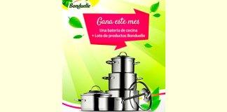 Gana una batería de cocina y productos Bonduelle