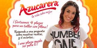Azucarera sortea 4 plazas para un taller con Alma